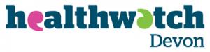 Healthwatch Devon logo.